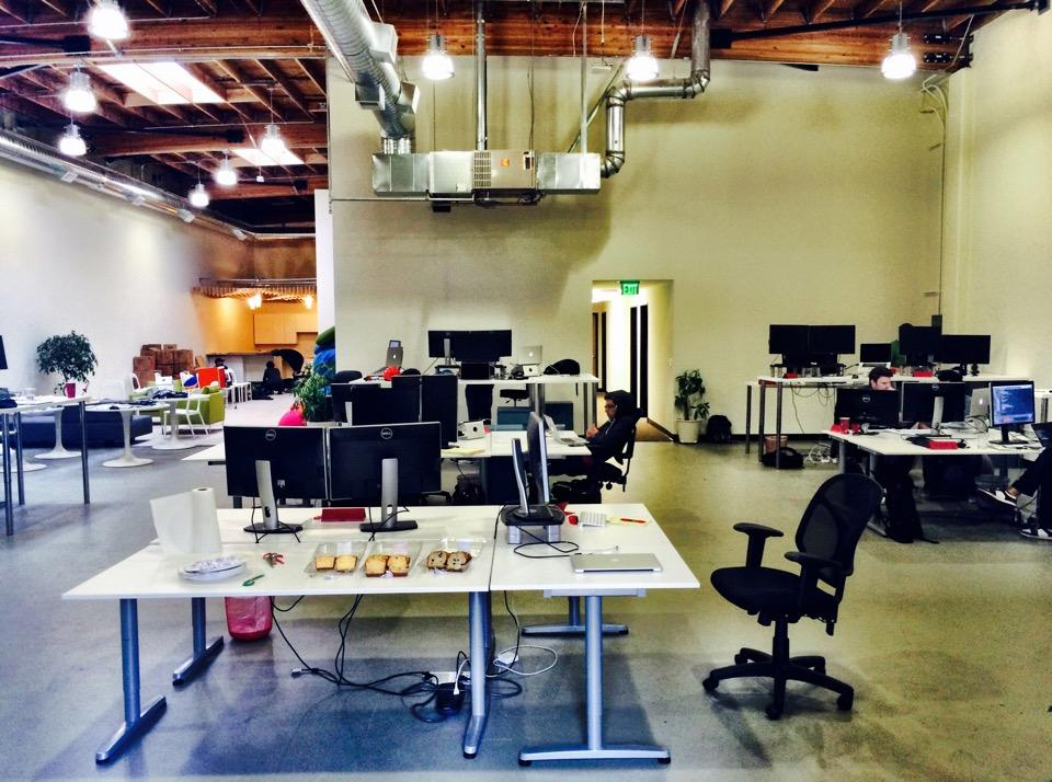 First day in our new office!! Very excited to be in this beautiful space! (at @Kifi) https://t.co/ITRWTKz70t http://t.co/c0XN9etvMQ