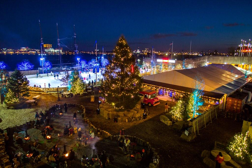 We may have topped Spruce Street Harbor Park. #riverrink http://t.co/WHiK6UPsnm