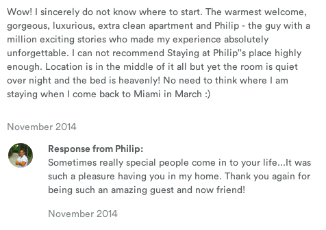 Subtext to this AirBnb review: we got drunk and had sex. http://t.co/tjNGQcJUBQ