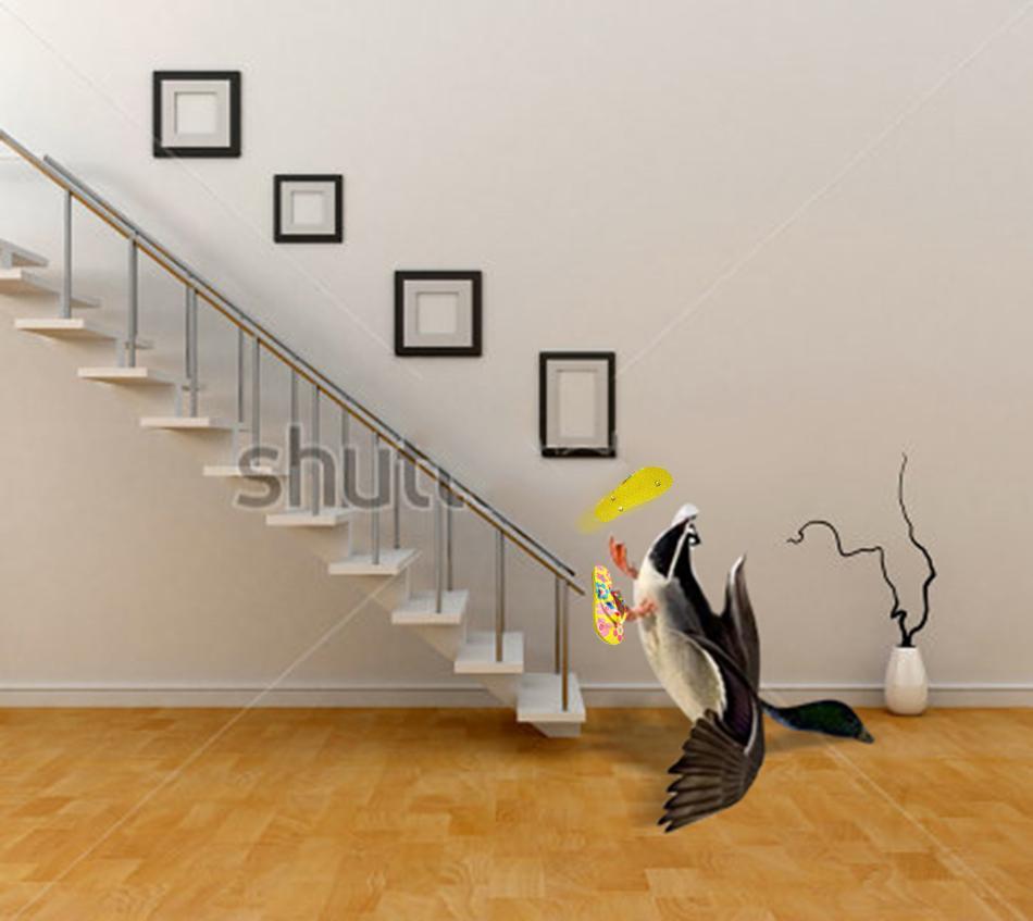 """""""@patylarrauri: -Nota mental: jamas usar chanclas para bajar escaleras.- 😭 #QueMadrazoMeDi"""" > Descripción gráfica http://t.co/KyubsqYd0t"""