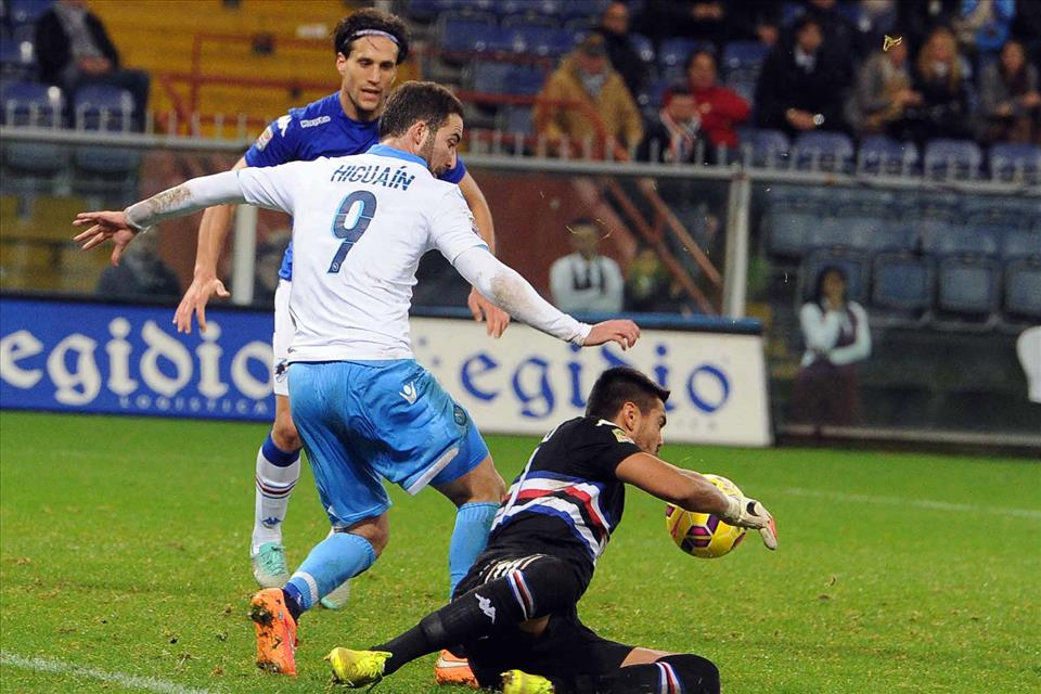 VIDEO Sampdoria 1 - 1 Napoli gol highlights [Serie A].