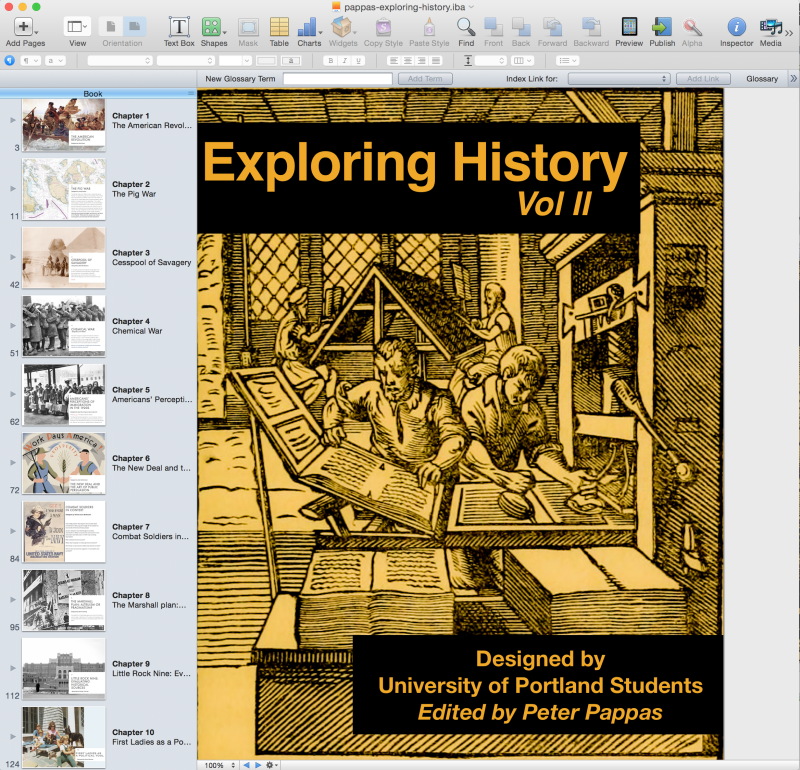 In @EdMethods tonite doing final drafts of our #DBQ iBook. Then iTunes #iBooksAuthor #sschat http://t.co/nklsyawNTq http://t.co/38gyTTmjDq