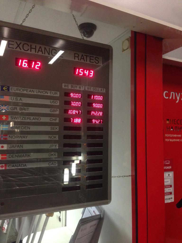 Российский фондовый рынок обвалился вслед за падением рубля - Цензор.НЕТ 7459