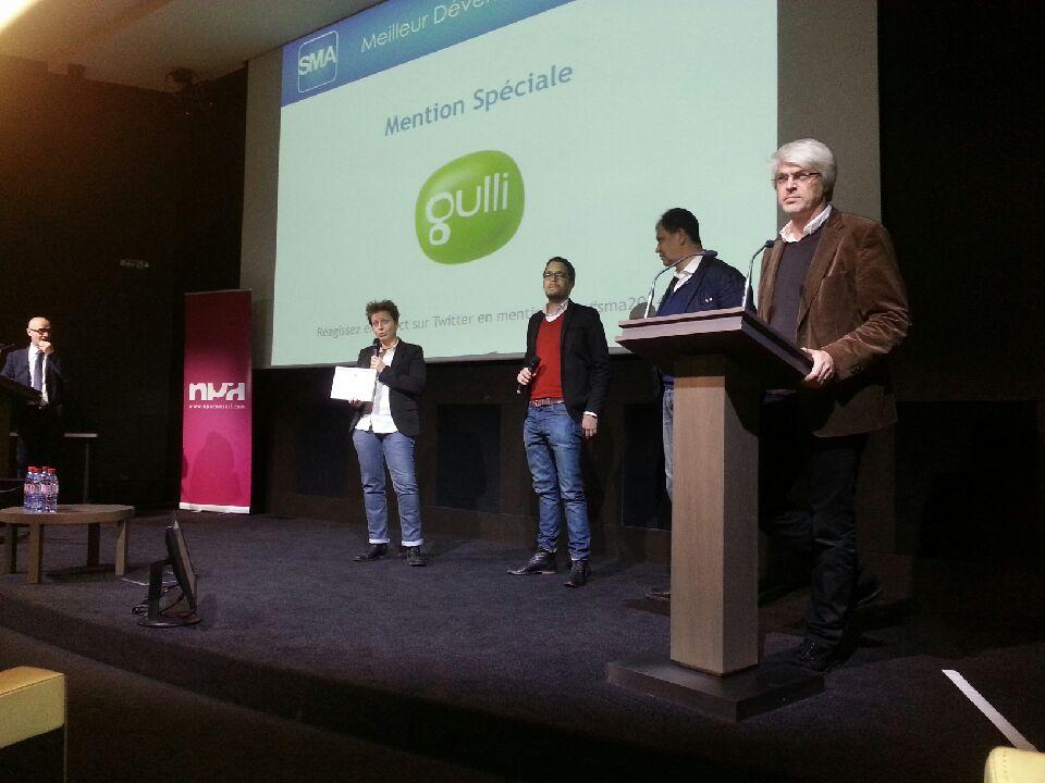 Wiztivi Creative Studio et #Gulli récompensés aux SMA awards catégorie 'Meilleur développement HbbTV' Gulli #HbbTV