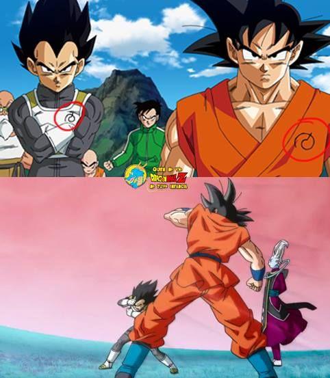 Goku On Twitter The New Symbols On Goku And Vegetas Clothes Make
