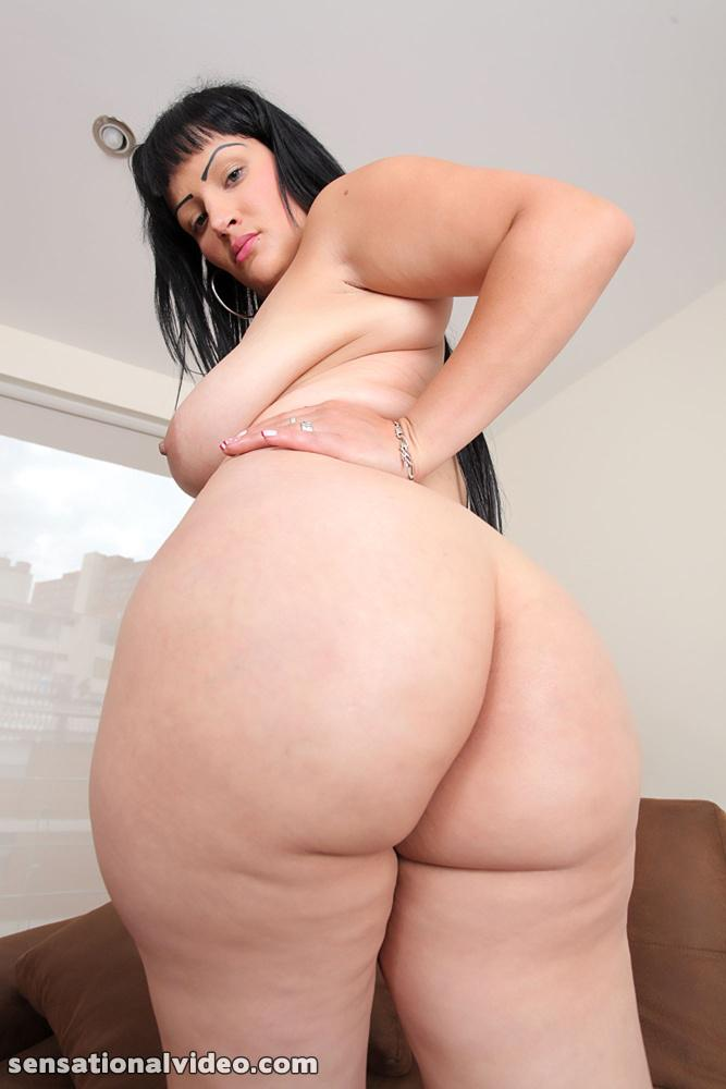Latina Big Ass Oil Anal