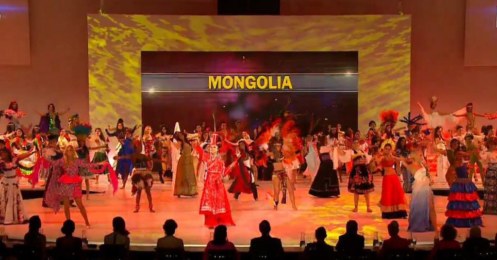 #Mongolia #MissWorld2014 монголын хеемийгеер, монголын миссээр дэлхий чимдэг! http://t.co/4TnnoRUD7w