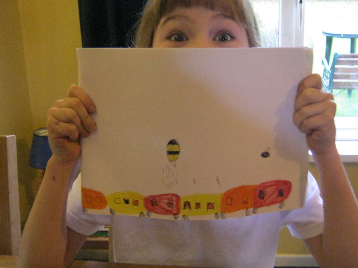 @LetToysBeToys yes #girlslovetrains (this one is under attack from giant insects) http://t.co/sfkILI7gWS