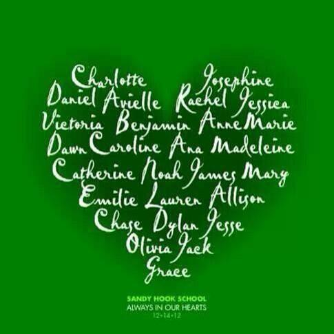 Remembering #SandyHook. A day our hearts were forever broken. Prayers for healing, for peace & for change. http://t.co/CbZizbWcsK