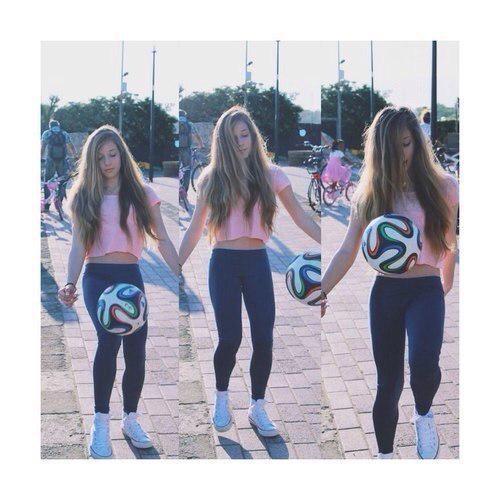 Девушки любящие футбол восхитительны фото 336-764