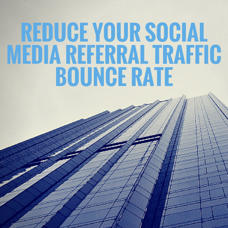 ✔ How To Reduce Your Social Media Referral Traffic Bounce Rate  http://t.co/kQ5VvqdGer http://t.co/MXOsBryEa7