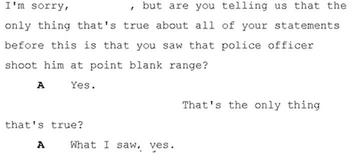 Some #Ferguson witnesses admitted lying, in grand jury testimony. http://t.co/8QWZixcDH6 http://t.co/sebFdS8fh0