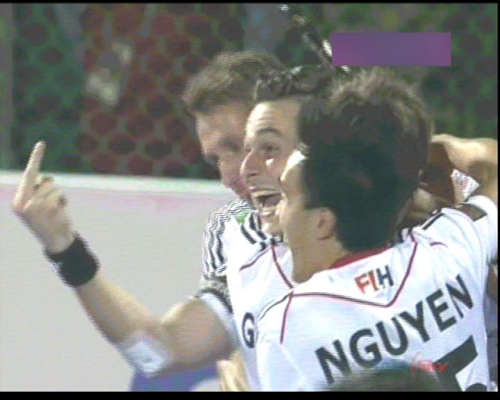 "I hope @FIH_Hockey takes notice of this! wonder if Indian media will flash ""shameful Germany"" tonight. #CT2014 http://t.co/R3Q9umGZoc"