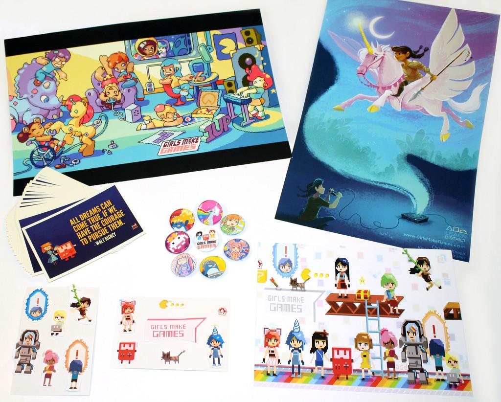 The @GirlsMakeGames Limited Edition Holiday Box is on sale! Support this awesome program! http://t.co/7x61xZAube http://t.co/Me6aDu8Rbm