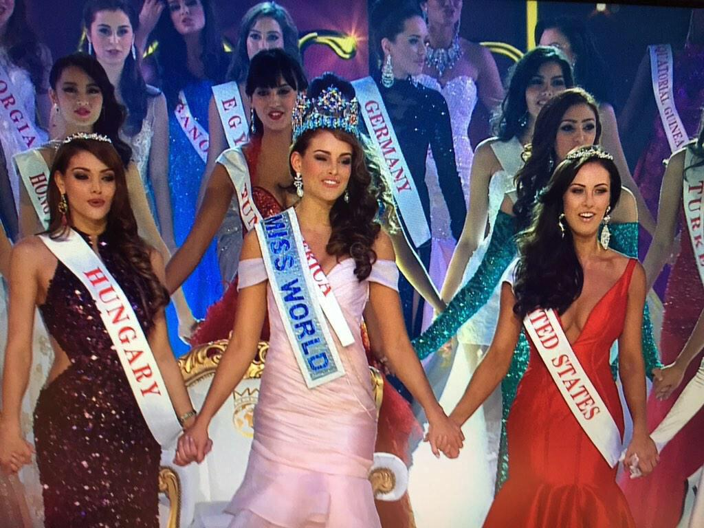"We are very proud of fellow SAfrican beauty who brings home world Crown! ""@Abramjee: Rolene Strauss #MissWorld2014 http://t.co/P1YBbYYbEe"""