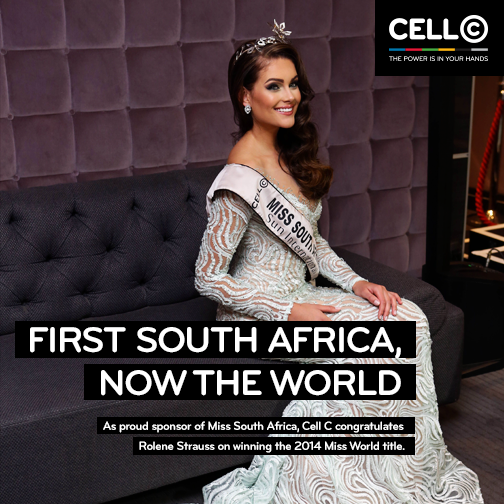Congratulations to @Official_MissSA @RoleneStrauss who has been crowned as #MissWorld2014 #EPIC #Believe http://t.co/6MHChGZWQQ
