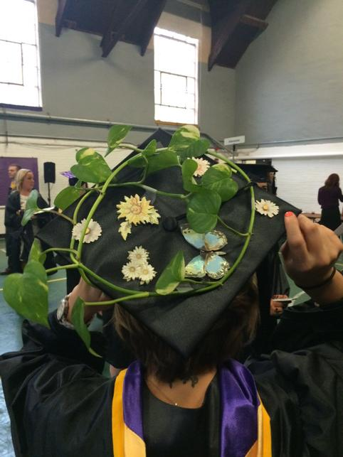 It is a real plant! #wcugraduation http://t.co/222WqX5jTc