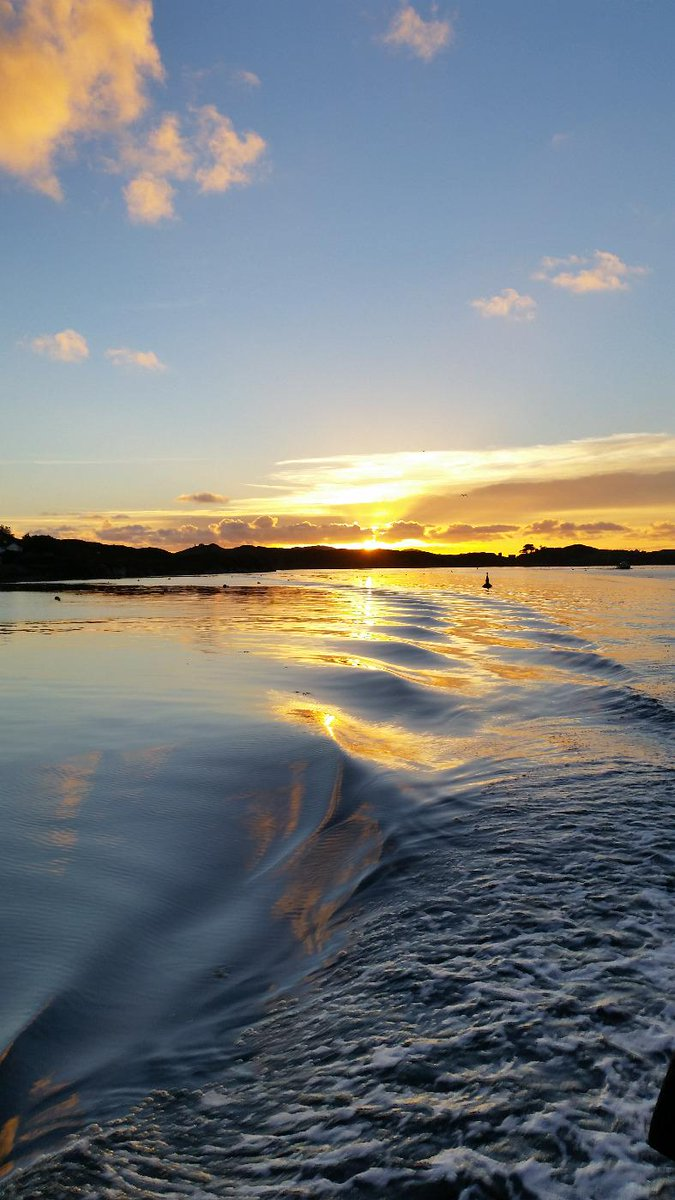 "Sherkin North Shore on Twitter: ""Early winter sunset viewed from ..."