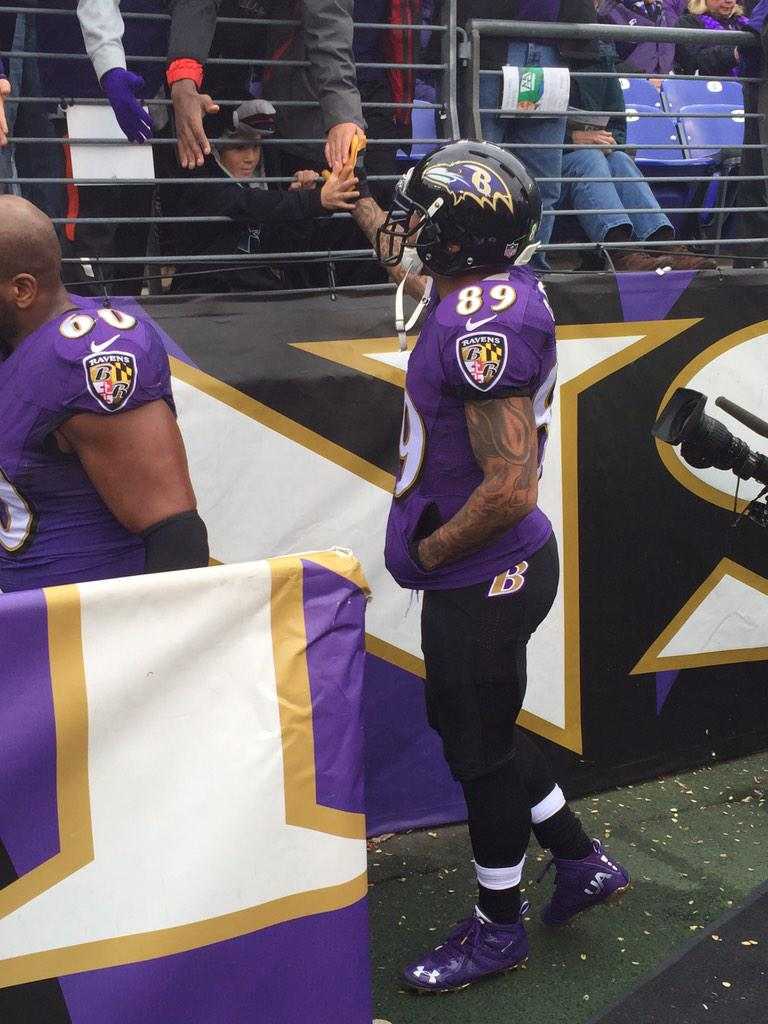 Baltimore Ravens on Twitter: Steve Smith Sr. gets some love from a  for cheap