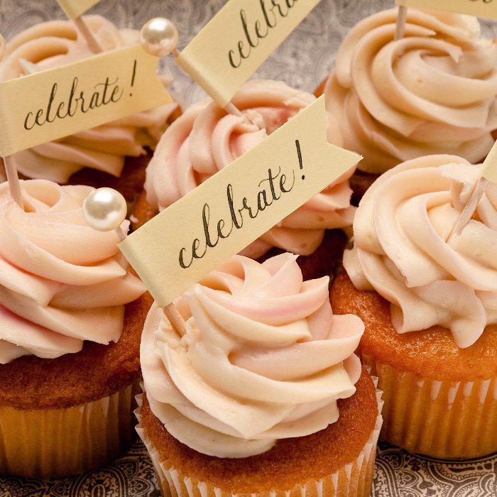 как сделать кексы с пожеланиями всего