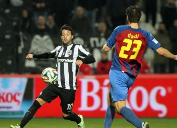 Dimitrovski marks a PAOK player