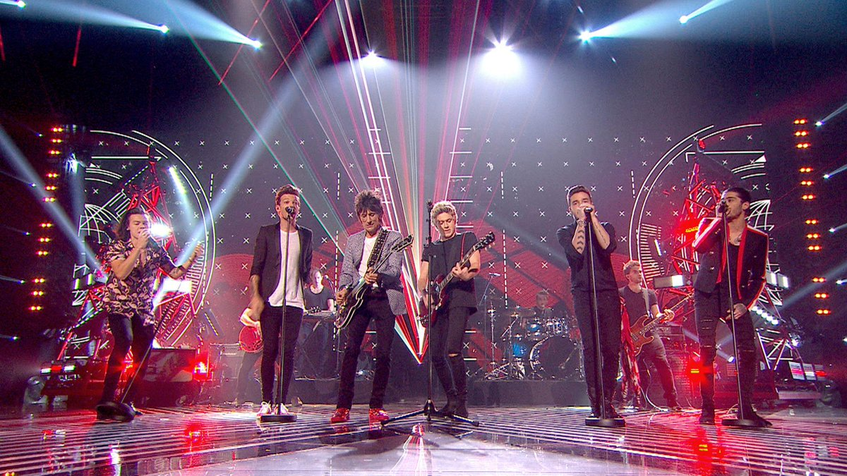 MASSIVE thanks to our amazing #XFactor alumni @onedirection AND @ronniewood!