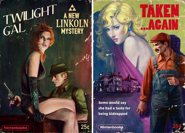 Artist @AstorAlexander Imagines BioShock, Zelda, And Mario As Pulp Noir Novels - http://t.co/zIPLXyYYZ4 http://t.co/sXgfC0ILZ4