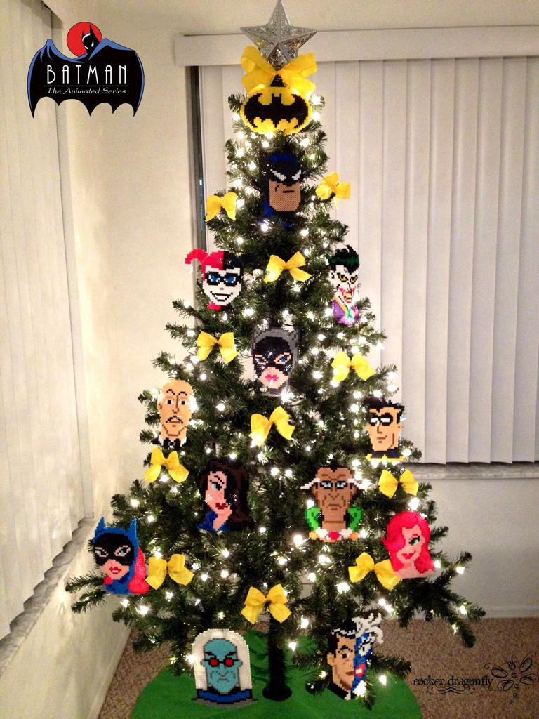 Batman christmas tree ornaments - Riesh On Twitter This Years Christmas Tree Theme Is Batman The Animated Series Dccomics Paul_dini Realkevinconroy Hamillhimself