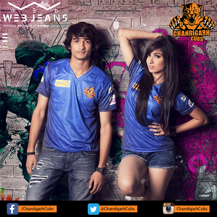 Vrushika Mehta and Shantanu Maheshwari in BCL Team Chandigarh Cubs - Box Cricket League image-picture