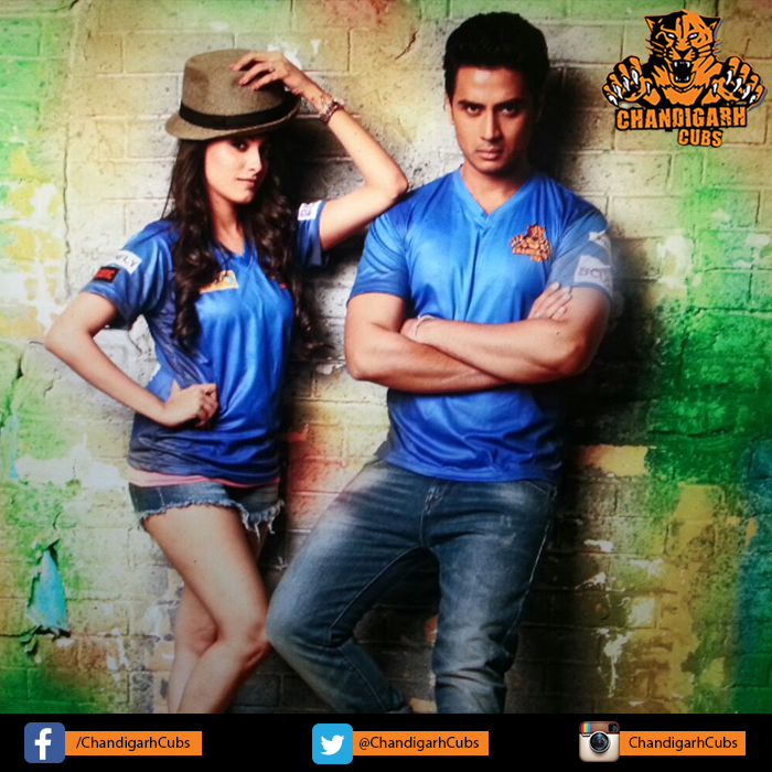 Hot owners Shiv Pandit and Anita Hasnandani of Team Chandigarh cubs - BCl 2016,, Box Cricket League 2 image-picture