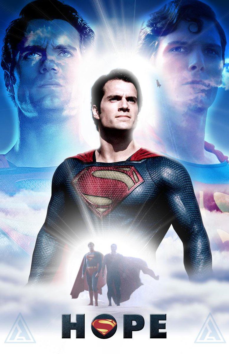 Adeel Of Steel On Twitter Another Superman Poster Featuring Henry Cavill Christopher Reeve ChristopherReeve HenryCavill