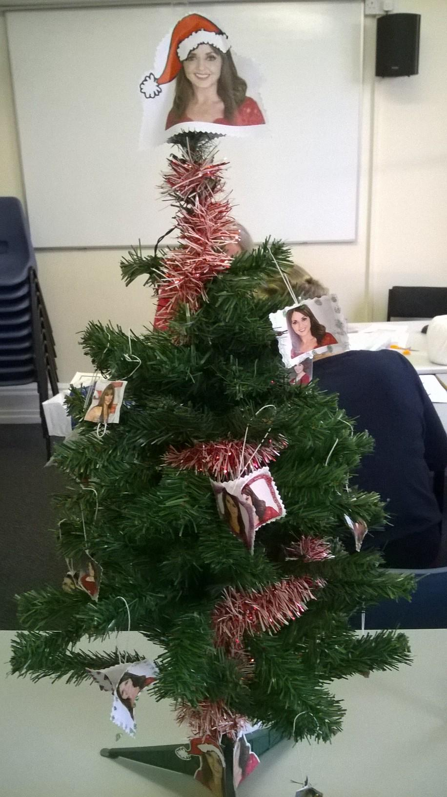 HIlarious...  RT @LeicesterHigh  What do you think of the Charnwood House 'Carol' Christmas Tree? #houseeventmadness http://t.co/Fg09unmnPj