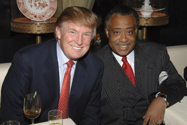 Donald Trump: Al Sharpton loves me because I get him