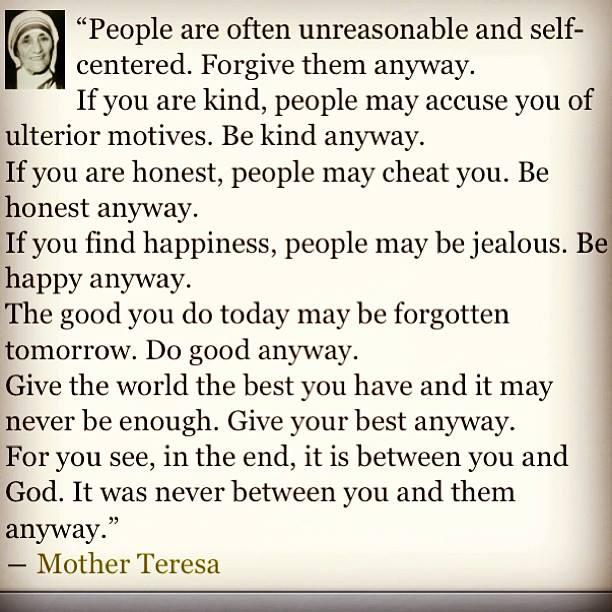 Mother Teresa Monday #quoteofday http://t.co/FbJOJbwJMF