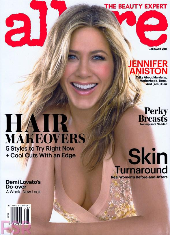 Capa da revista Allure, de 2015