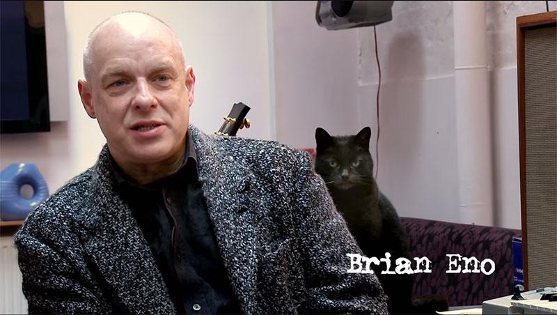 Some bald bloke has a cat called Brian Eno. http://t.co/CtjaMVIxNt