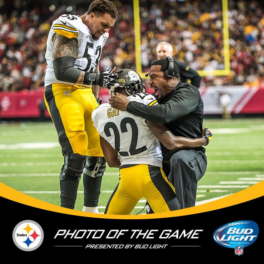 """95b558c57c3 """" steelers  Here s this week s  budlight Photo of the Game.  pic.twitter.com 6t3RDEv6xV"""" Joey porter would be awesome to play for"""