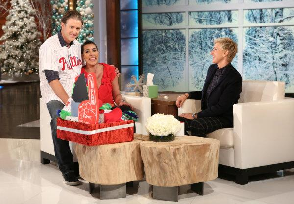 Watch Chase Utley surprise a fan battling cancer on @TheEllenShow  http://t.co/X4M11l9sKs http://t.co/HY0WmhfpoQ