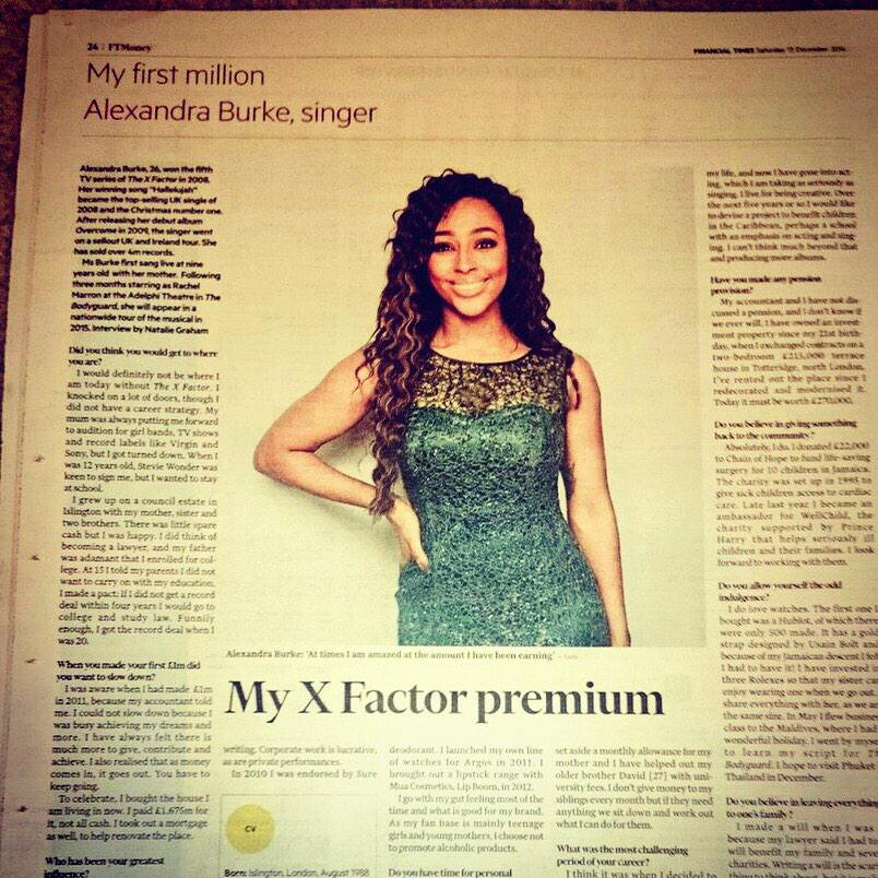 RT @outsideorg: Our girl @alexandramusic featured in @FT this week. http://t.co/nDgTZNzNXT #myfirstmillion http://t.co/KHC8wSGGO2