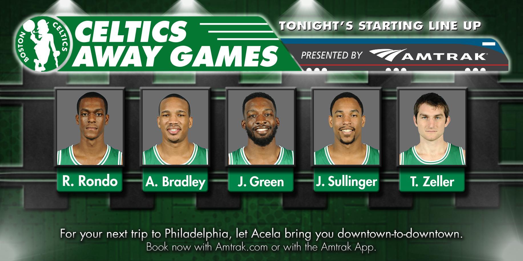 """Boston Celtics on Twitter: """"Here's tonight's @Amtrak Away ..."""