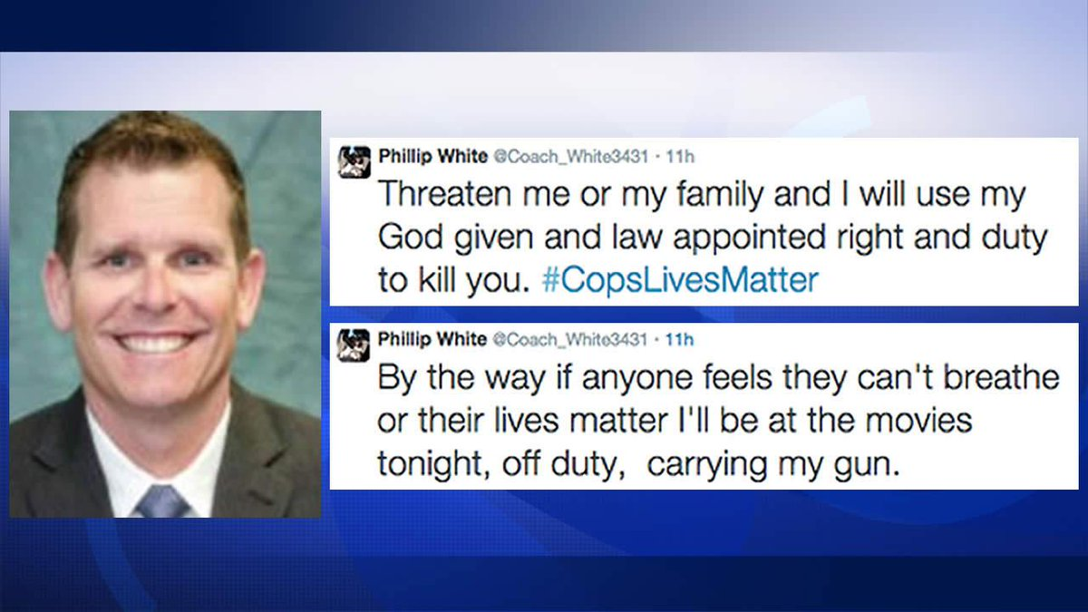 Phillip White San Jose cop put on leave over 'controversial tweets'