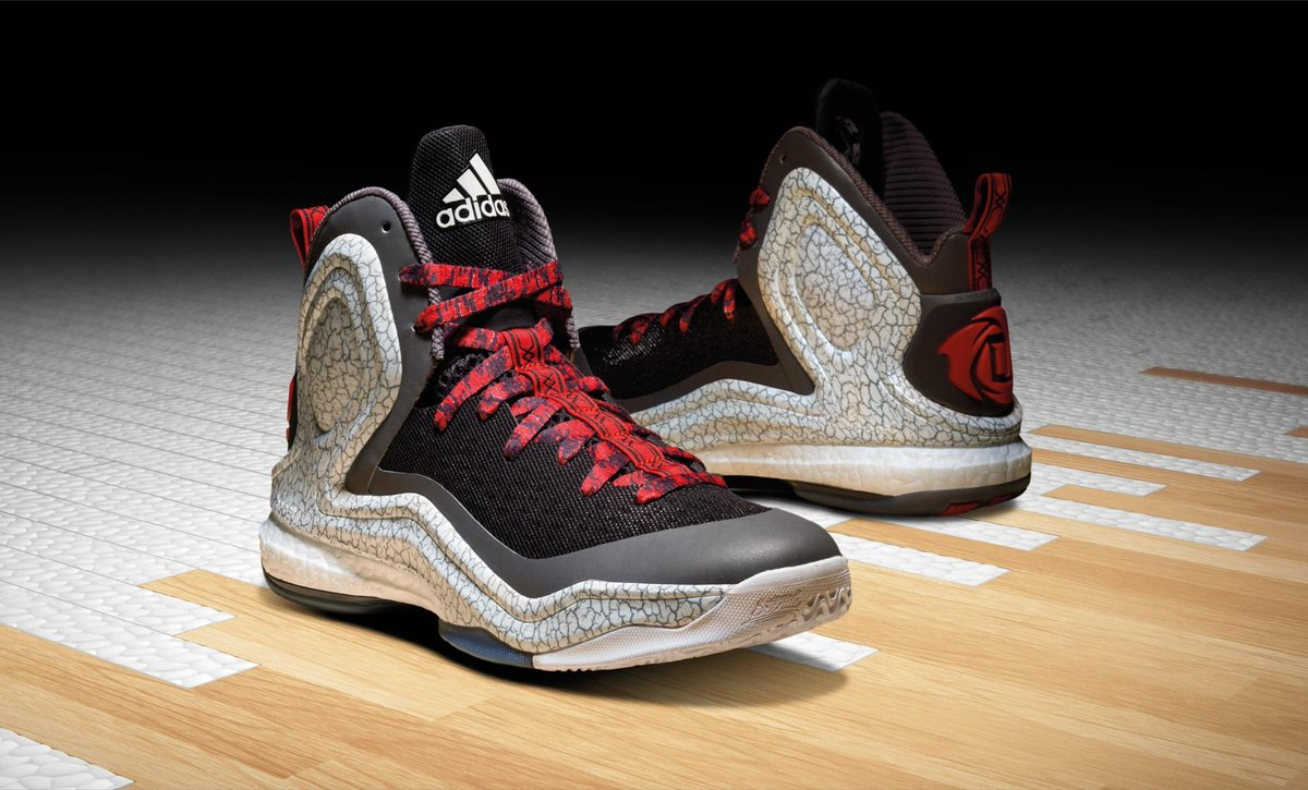 "283863dbac74 "" footlocker  The new adidas  DRose5 Away Alternate is now available! BUY  HERE  http   bit.ly 1yj0dMI pic.twitter.com ybn2dmcvUa"" why red laces"