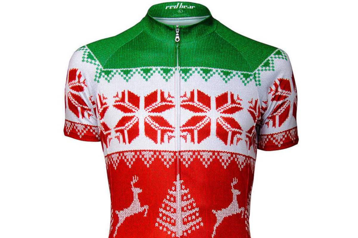 Forget the Christmas jumper, how about a Christmas jersey?! http://t.co/hp2TpfVsFR http://t.co/UiBMkLcs2U
