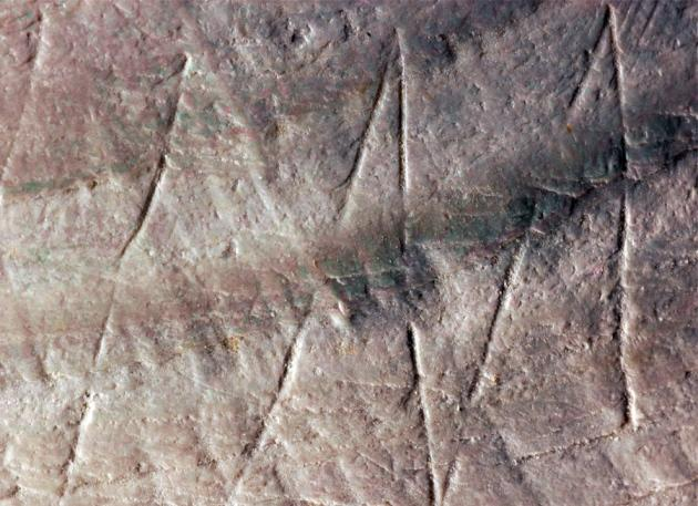 Paleoanthropologist Discovers Set of Geometric Signs Used Around the World 40,000 Years Ago B4AOlh9IgAAAr_f?format=jpg&name=small