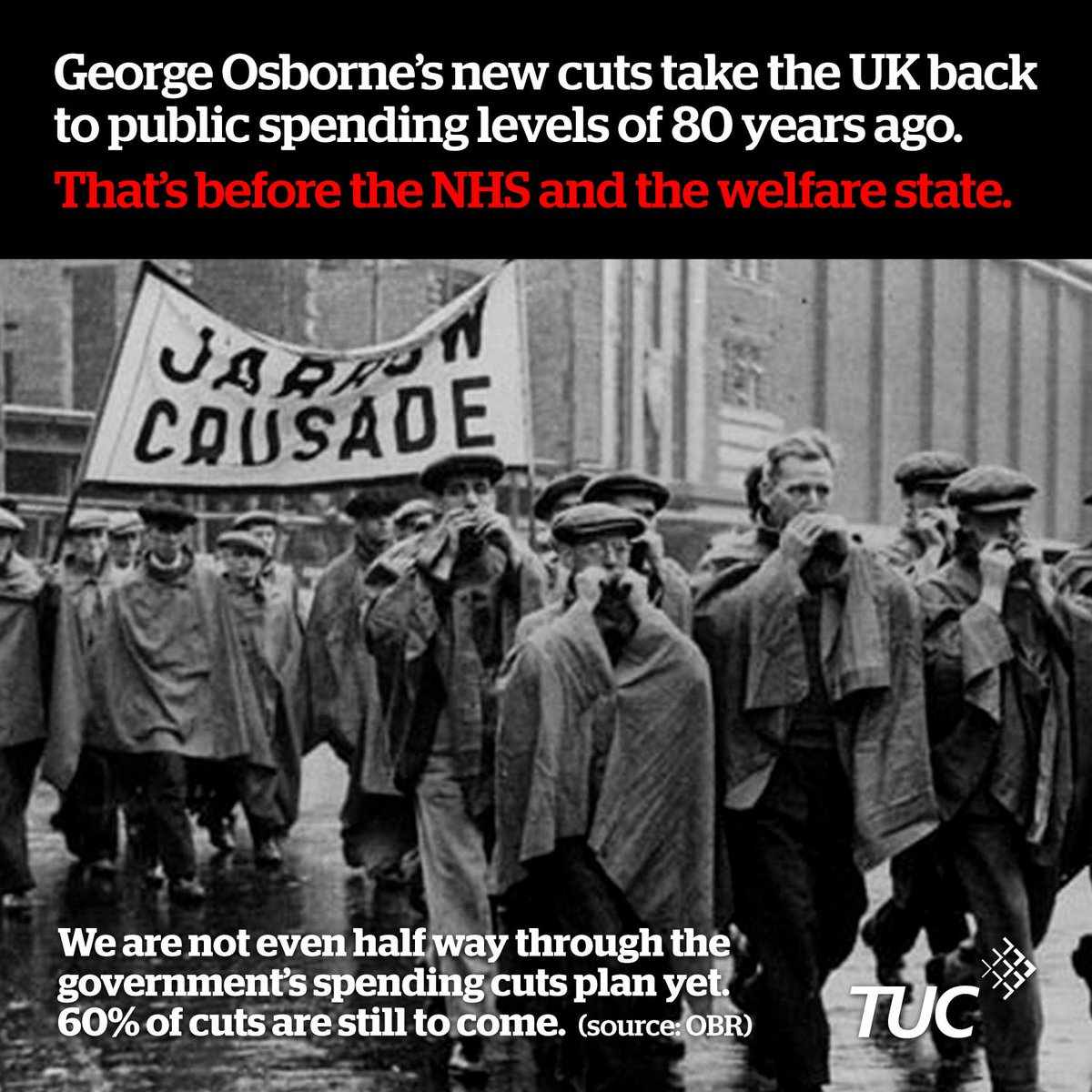 Cuts announced in #AutumnStatement will take UK back 80 years in public spending - to before the NHS & welfare state http://t.co/PawCTClsmk