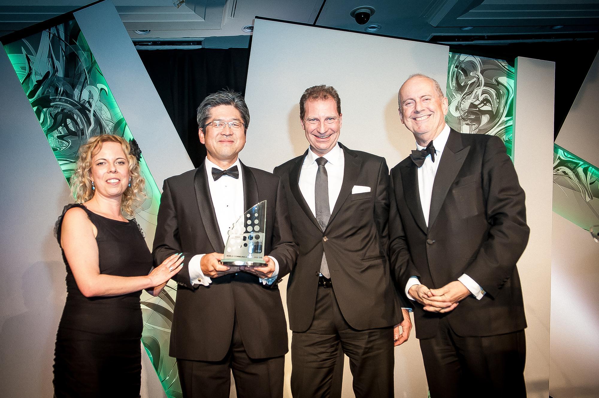 NTT Wins WCA Best Global Operator Award
