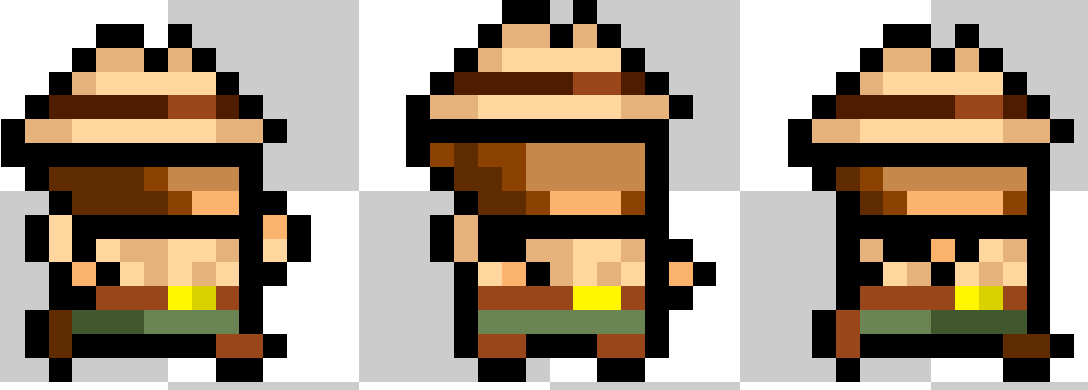 Working on little character for our first Mega Mammoth Mania Month Development! #gamedev @PixelArtSprites #pixelart<br>http://pic.twitter.com/h2gvIt3iAL