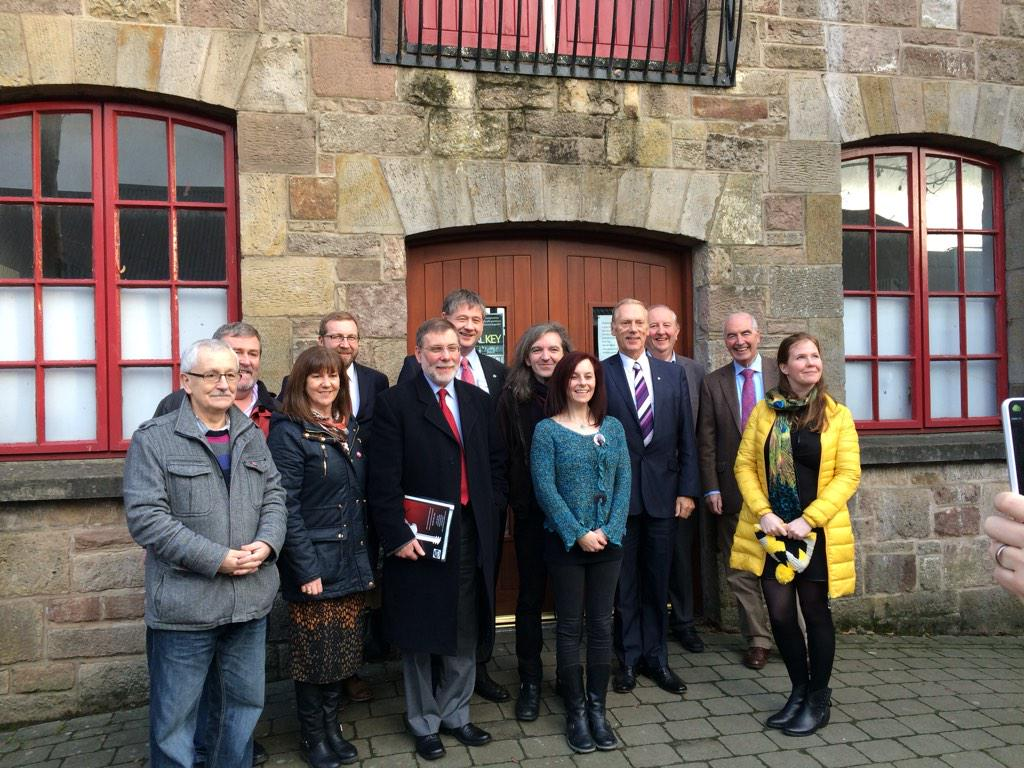 Small But Massive gathering today@ the Cornstore.Thanks to @NIACALCommittee for an enjoyable visit! #smallbutMASSIVE http://t.co/jVSNPybDuR