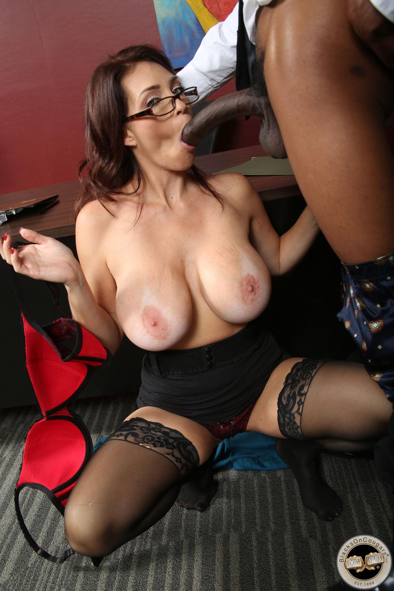 Black cougar porn