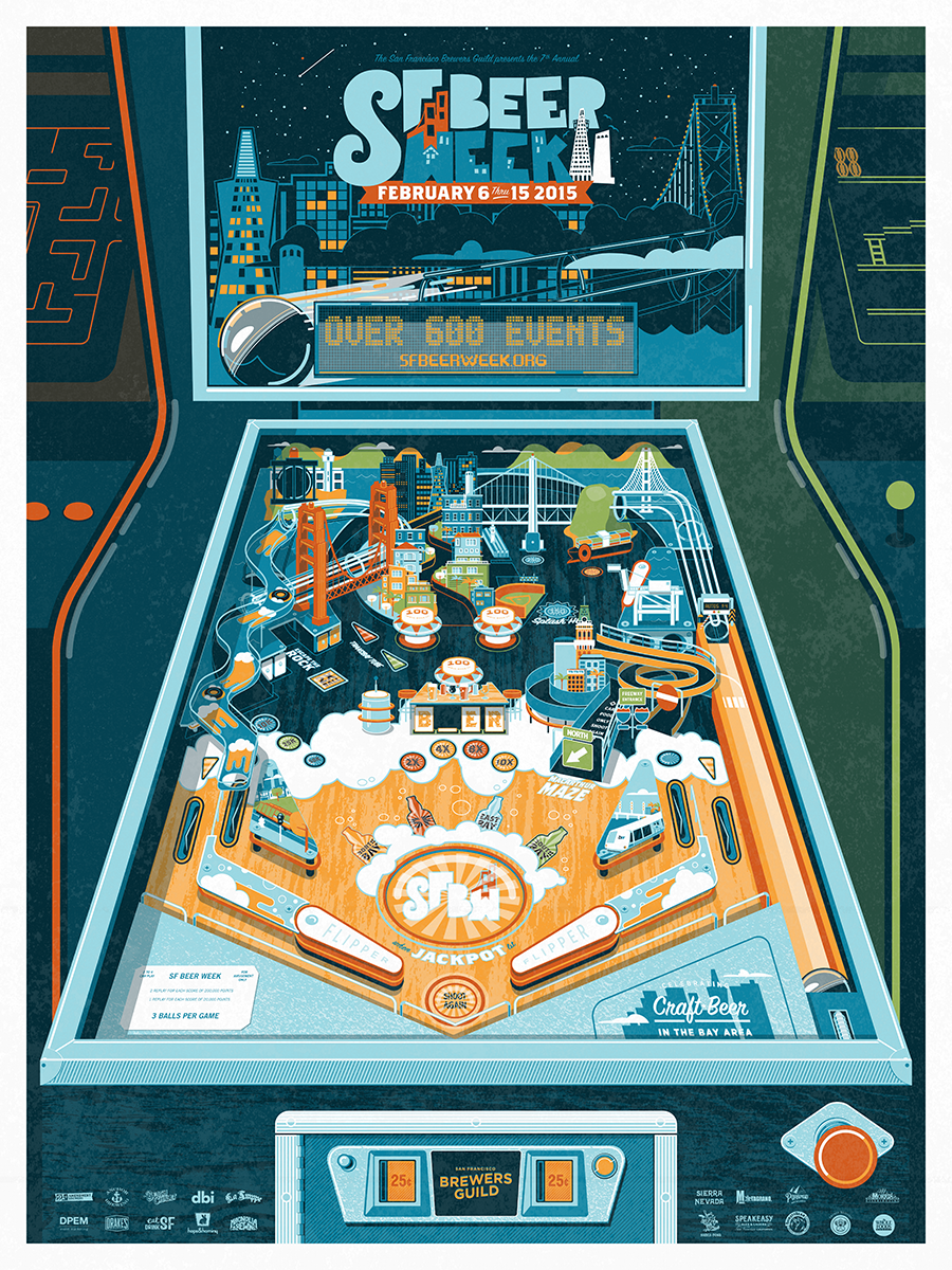 Play the game this February. It's the 2015 #SFBeerWeek poster. Stay tuned for availability. http://t.co/qxLR5019I7